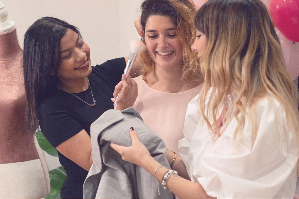Servicios Grupos Tarde de Chicas - Bouquet di Peonies